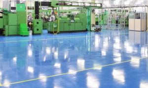 חיפוי רצפות מפעלים